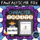 Character Traits - Book Companions Bundle for Novel Studies