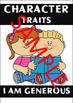 Character Traits Brag Tags - 40+ BRAG TAGS
