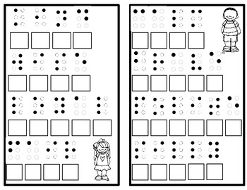 Character Traits Braille Activity
