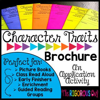 Character Traits Brochure Tri-fold