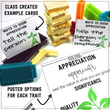 Character Traits for Classroom Community