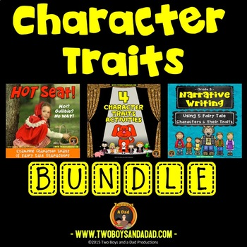 Character Traits and Analysis Bundle