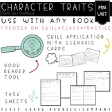 Reading Comprehension Pack for Character Traits