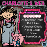 Charlotte's Web - Character Traits Activities Bundle