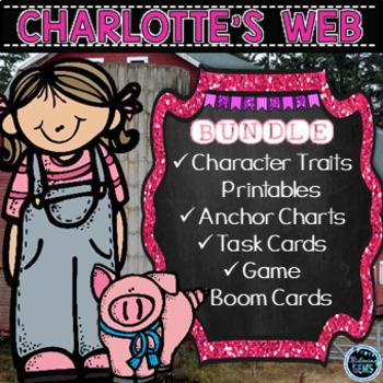 Charlotte's Web - Character Traits Bundle