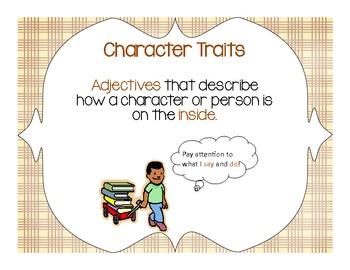 Character Traits Charts