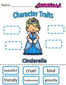 Character Traits Cinderella