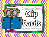 Character Traits Clip Cards