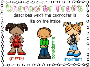 Character Traits {Common Core Aligned}