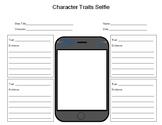 Character Traits Comparison Selfie