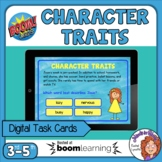 Character Traits Boom Cards Digital Task Cards Distance Learning