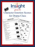 Character Traits & Emotions Mini Scenes for Drama Class