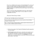 Character Traits Essay Outline