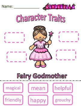 Character Traits Fairy Godmother Cinderella