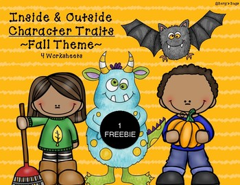 Character Traits: Fall Freebie