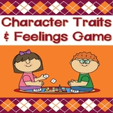 Character Traits & Feelings Game: With Graphing Worksheets!