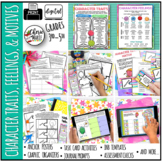 Character Traits Feelings Motives Activities Posters 3rd G