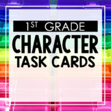 Character Traits First Grade Toothy® Task Kits