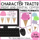 FREE Character Traits Game | Character Traits Activity