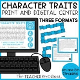 Character Traits Game | Character Traits Center