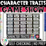 Character Traits Game Show | ELA Test Prep Reading Review