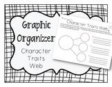 Character Traits Web Graphic Organizer