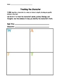 Character WAFT Graphic Organizer
