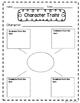 Character Traits Graphic Organizers English and Spanish