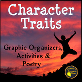 Character Traits Graphic Organizers, Games and Activities Packet!