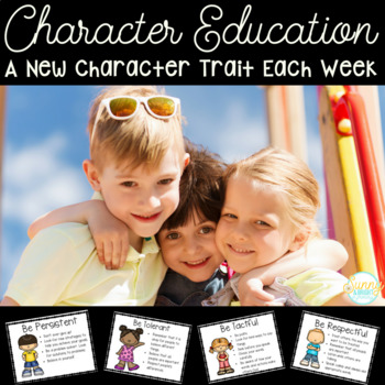 Character Traits- HUGE Bundle of Character Education Materials