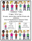 Character Traits I have...who has...