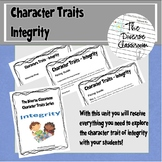 Character Traits - Integrity Unit