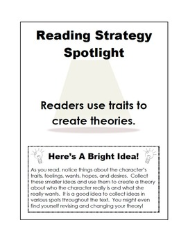 Character Traits - Interactive Reading Strategy - Language Arts Crafts Series