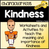 Character Education - Kindness - Worksheets Activities