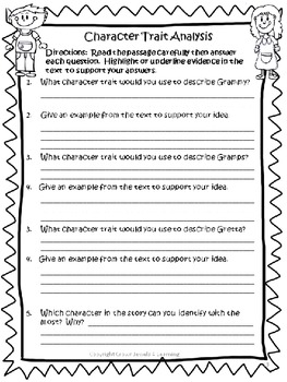 photo relating to Character Traits Printable known as Persona Properties Finding out Centre Sport and Printable Train