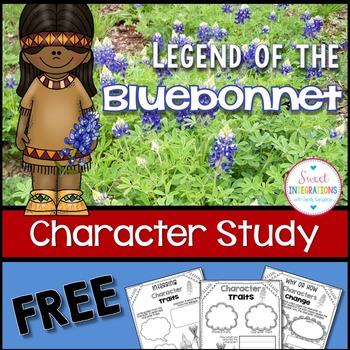 LEGEND OF THE BLUEBONNET - Character Traits
