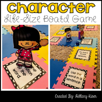 Character Traits Life-Size Board Game