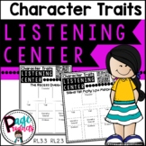Character Traits Listening Center with Q.R. Codes