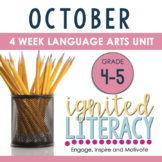 Ignited Literacy: OCTOBER - Pack#2:Spiralled Junior Litera