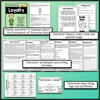 Character Education - Loyalty - Worksheets and Activities
