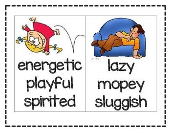 Character Traits Mini Posters