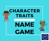 Character Traits Name Game Cards