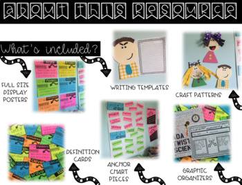 Character Traits Narrative Writing Activity