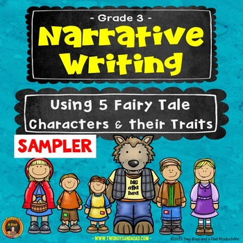 Narrative Writing Using Fairy Tale Characters and their Traits SAMPLER