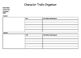 Character Traits Organizational Chart