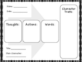 Character Traits Organizer