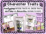 Character Traits - Outside Traits Vs. Inside Traits