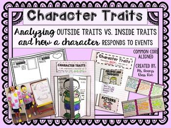 Character Traits - Outside Traits Vs. Inside Traits