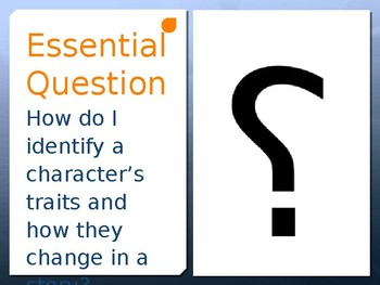Character Traits PPT.