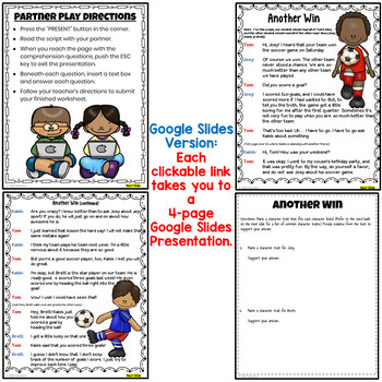 Character Traits Partner Plays (2nd and 3rd grades) by Deb Hanson